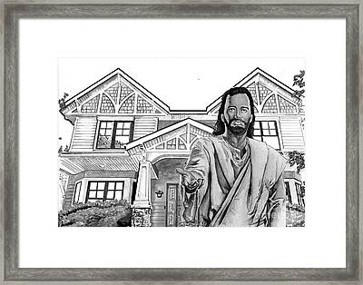 Welcome Home Framed Print by Bill Richards