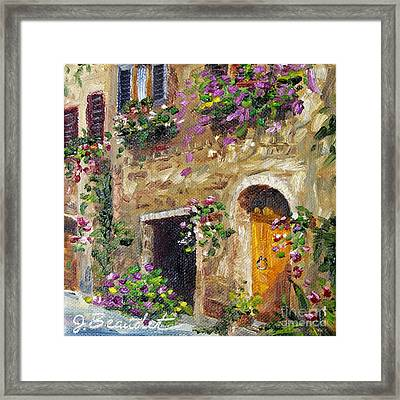 Welcome Home Framed Print by Jennifer Beaudet