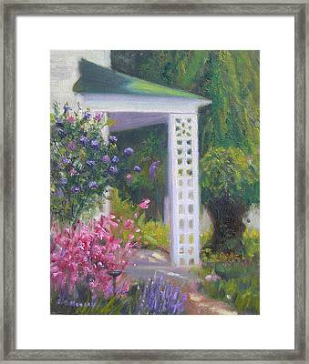 Welcome Home Framed Print by Sharon Morley
