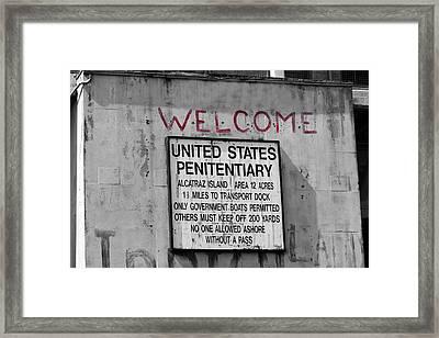 Welcome Framed Print by Ivan SABO