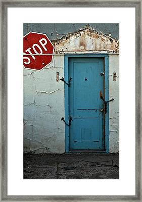Welcome Framed Print by Murray Bloom