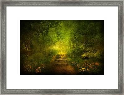 Welcome Path Framed Print by Svetlana Sewell