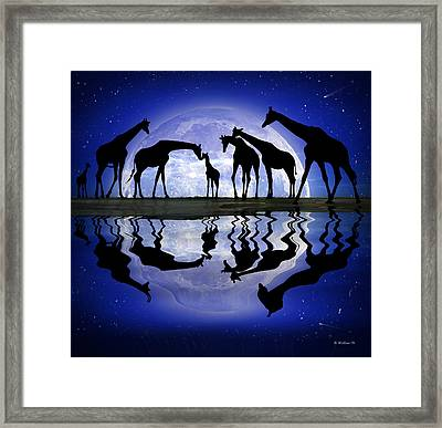 Welcome - Reflection Framed Print by Brian Wallace