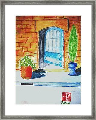 Welcome Framed Print by Spencer  Joyner