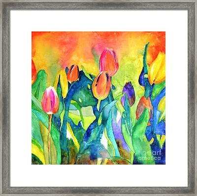 Welcome Spring #1 Framed Print by Betty M M   Wong