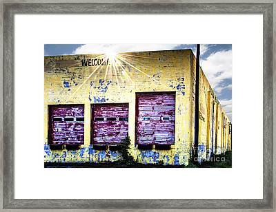 Welcome Framed Print by Tamyra Ayles