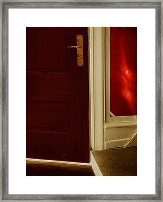 Welcome The Sun Framed Print by Odd Jeppesen