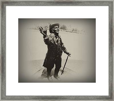 Welcome To America  Framed Print by Bill Cannon