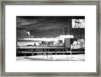 Welcome To Atlantic City Framed Print by John Rizzuto