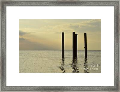 Welcome To Brighton Framed Print