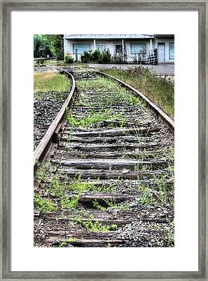 Welcome To Catlett Framed Print by JC Findley