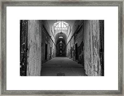 Welcome To Cell Framed Print by Kristopher Schoenleber