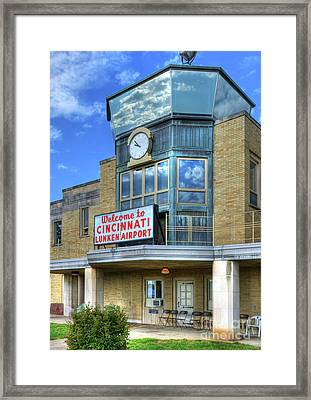 Welcome To Cincinnati Framed Print
