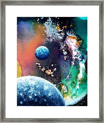 Welcome To Cydonia Framed Print by Lee Pantas