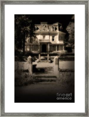 Welcome To Framed Print by Fred Lassmann