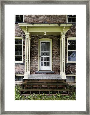 Welcome To Freedom - Harriet Tubman House Framed Print