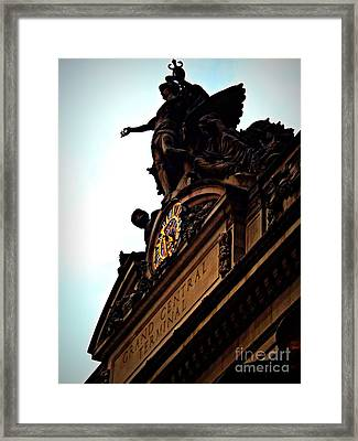 Welcome To Grand Central Framed Print by James Aiken