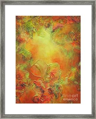 Welcome To Heaven Framed Print