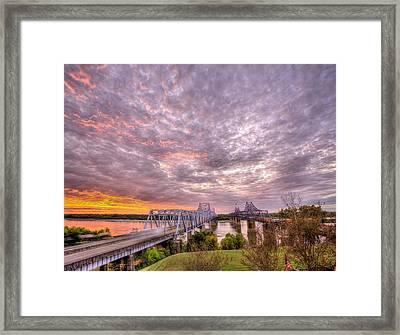 Welcome To Mississippi Framed Print