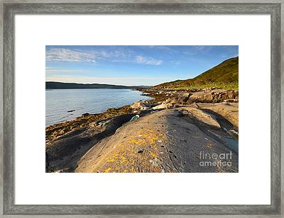Welcome To Mull Framed Print by Nichola Denny