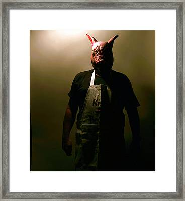 Welcome To My Nightmare Framed Print by Michael Ledray