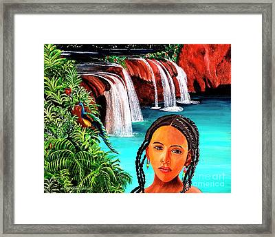 Welcome To My Sancturary Framed Print