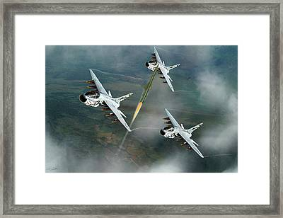Welcome To North Vietnam Framed Print by Peter Chilelli