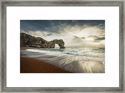 Welcome To Open Water Framed Print by Svetlana Sewell