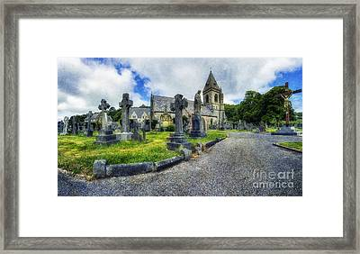 Welcome To Our Church Framed Print by Ian Mitchell