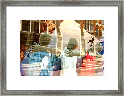 Welcome To Our World Framed Print by Jez C Self