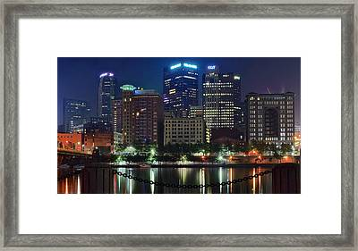 Welcome To Pittsburgh Framed Print by Frozen in Time Fine Art Photography