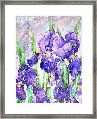 Welcome To Spring Framed Print