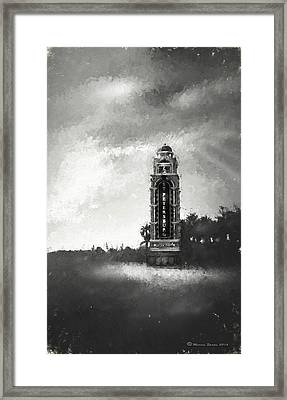 Welcome To St. Petersburg Framed Print