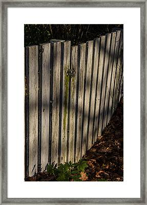 Welcome To The Backyard Framed Print