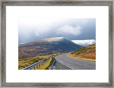 Welcome To The Highlands Framed Print