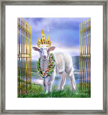 Welcome To The Kingdom Framed Print by Reggie Duffie
