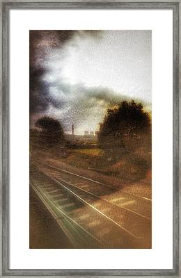 Framed Print featuring the photograph Welcome To The North by Isabella F Abbie Shores FRSA