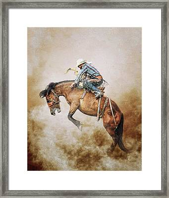 Welcome To The Wild Wild West Framed Print