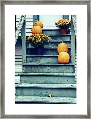 Welcome To Trick Or Treat Framed Print