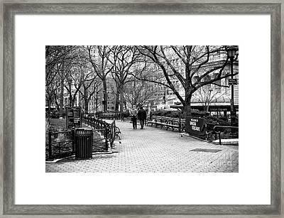 Welcome To Union Square Framed Print