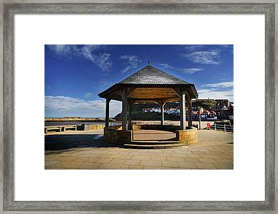 Welcome To Whitby Framed Print