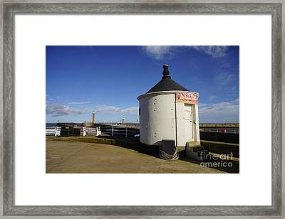 Welcome To Whitby Framed Print by Nichola Denny
