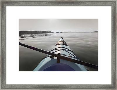 Welcome To Your Adventure  Framed Print