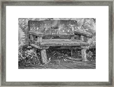 Welcome To Your Park Framed Print by Thomas Young