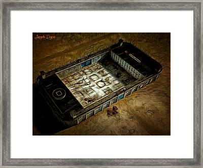 Welcome To Your Prison - Da Framed Print by Leonardo Digenio