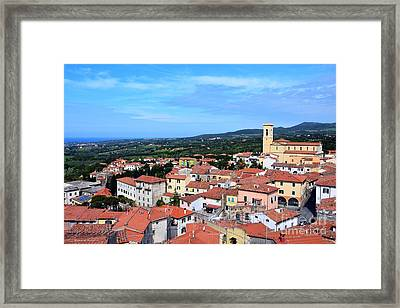 Welcome To Tuscany Framed Print by Ramona Matei