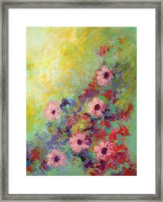 Welcoming Spring Framed Print by Suzzanna Frank
