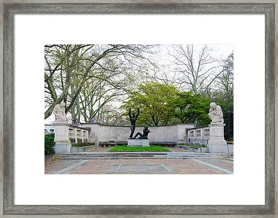 Welcoming To Freedom - Philadelphia Framed Print by Bill Cannon