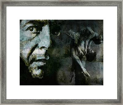Well , I've Heard There Is A Secret Chord Framed Print by Paul Lovering