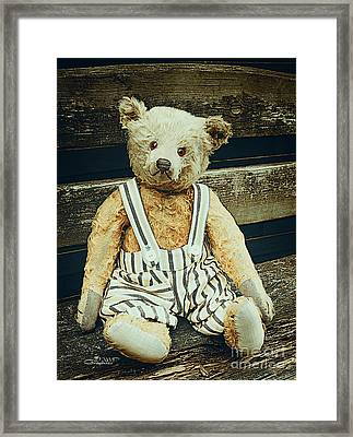 Well Advanced In Years Framed Print